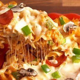 Noodles Pizza Base Recipe
