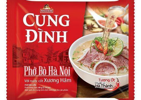 Công bố sản phẩm: Cung đình phở Bò Hà Nội